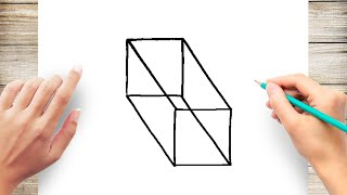 How to Draw Rectangular Prism Step by Step for Kids