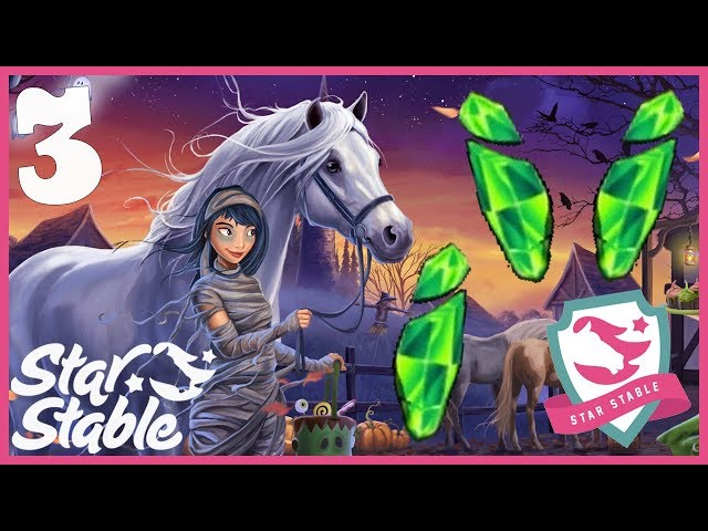 Day 3 Halloween Green Soul Shard Locations + Halloween 2018 Wild Jorvik Horse Star Stable Online