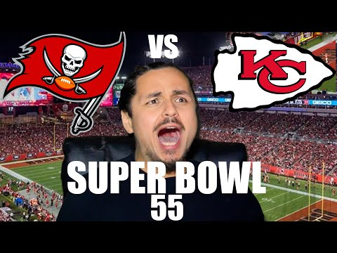 Tampa Bay Buccaneers vs. Kansas City Chiefs Super Bowl 55 Reaction Video 2021