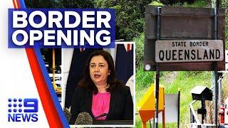 Coronavirus: Queensland Borders Open To All States Except Victoria | 9 News Australia