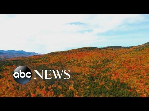 New Hampshire Fall Foliage [DRONE FOOTAGE]