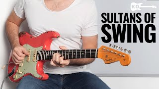 Dire Straits Sultans of Swing... But It's a 10 Minutes Guitar Solo!