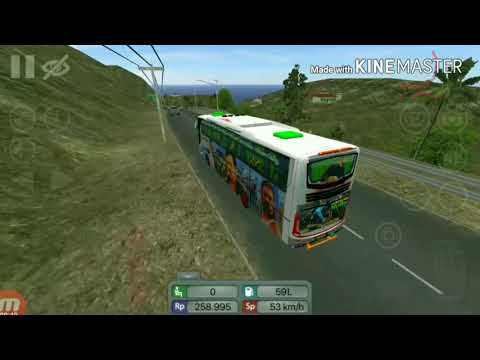 INDIAN(kerala) TOURIST BUS IN BUS SIMULATOR INDONASIA👆