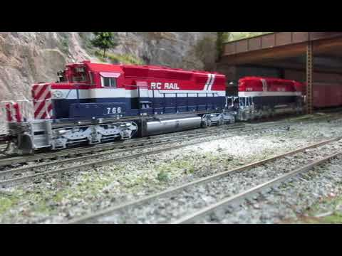 Canadian Pacific down under ho scale layout