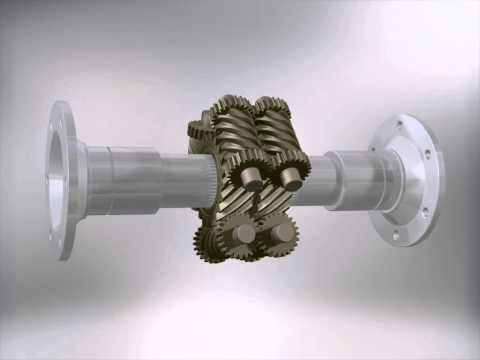 Diferencial Torsen 2 (Autoblocante) / Self-locking Torsen Differential 2