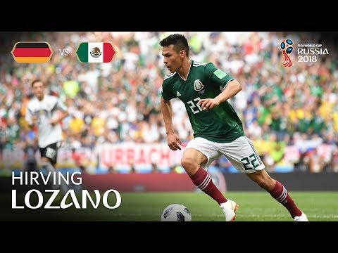 Hirving LOZANO Goal - Germany v Mexico - MATCH 11