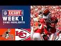 Browns vs Chiefs Week 1 Highlights NFL 2021 mp3
