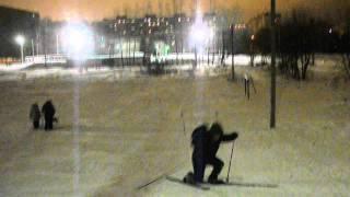 Лыжи от 1 лица.
