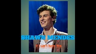 LAGU terbaru Shawn Mendes - If I CAN'T HAVE YOU