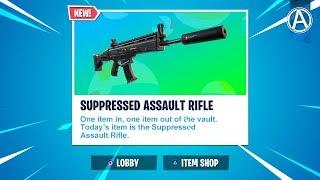 Suppressed Assault Rifle UNVAULTED // 2300+ Wins // Use Code: byArteer (Fortnite Battle Royale LIVE)