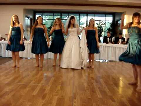 Mrs. Smith and Bridesmaids Big Surprise Wedding Dance