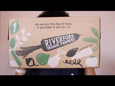 RIVERFORD ORGANIC SMALL VEGETABLE BOX REVIEW | LONDON AFRO VEGAN