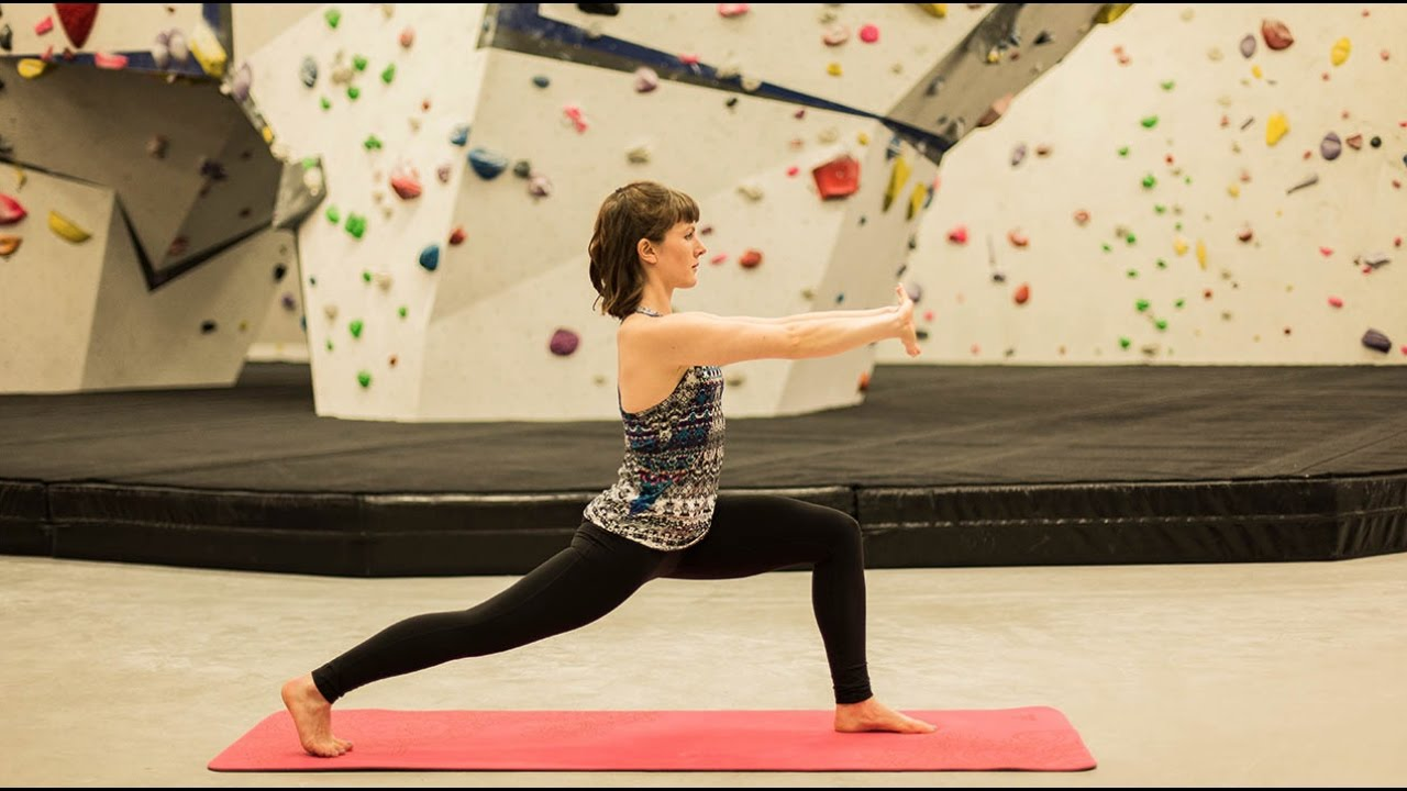 Yoga For Climbers: The Warm Up
