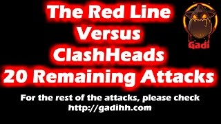 The Red Line vs ClashHeads Attacks #24-#44   Clan Wars   Clash Of Clans HD