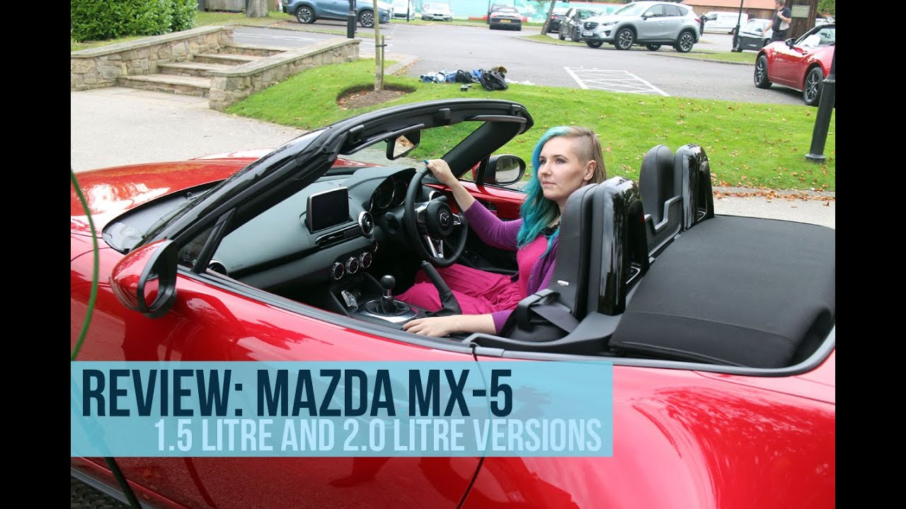 review new mazda mx 5 sports car 1 5 and 2 0 litre versions road trip episode 5 youtube. Black Bedroom Furniture Sets. Home Design Ideas