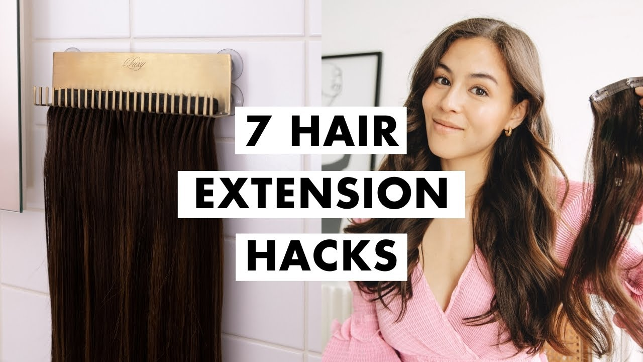 Hair Extension Hacks   How to Use Clip-In Extensions