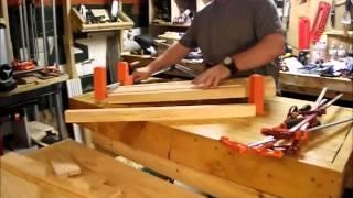 making an l shaped desk brian s workshop