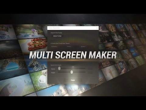 Multi Screen Maker | After Effects Template