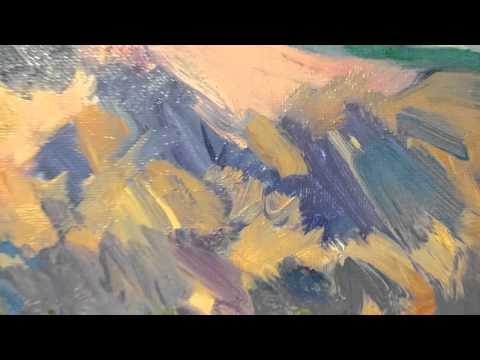 Abstract Impressionism Landscape Painting. Artist Jose Trujillo 0170