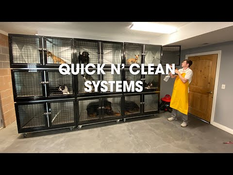 Quick N Clean Professional Dog Kennels