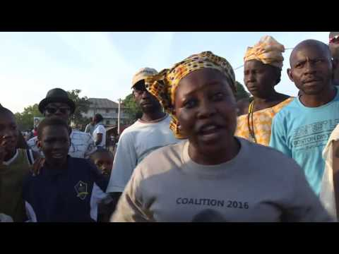 Gambia shows red card to iron fisted ruler video for AFP blog