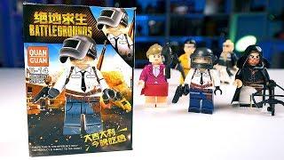 Китайское LEGO по PUBG!