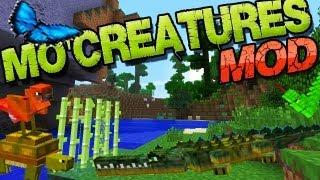 Minecraft 1.8 Mo'Creatures Mod: Mehr Tiere + Monster Mob Installieren - Deutsch German Mac Win