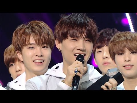 《Inkigayo WIN》 인기가요 1위 발표|GOT7(갓세븐) - Fly 20160403