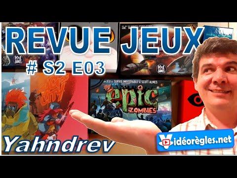 REVUE JEUX de Société #RJS2E3: Tiny Epic (x3), Deep Sea Adventure, Insider, Tour de Chats, Tag City