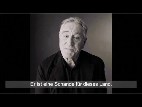Wahlkampf USA: Robert De Niro zeigt seine Verachtung für Don