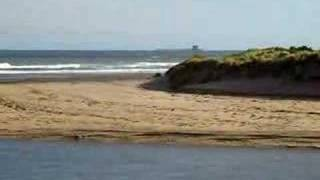 View to Coquet Island from Alnmouth