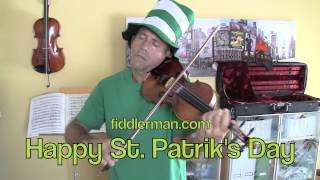 Happy St Patrik's Day from Fiddlerman.com