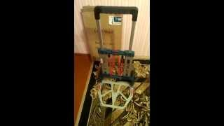 Складная тележка Bosch для инструмента (установка дверей)