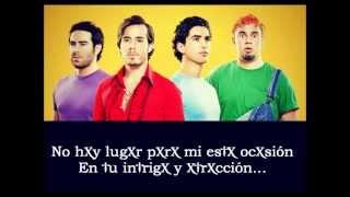PXNDX Lascivamente (Karaoke)