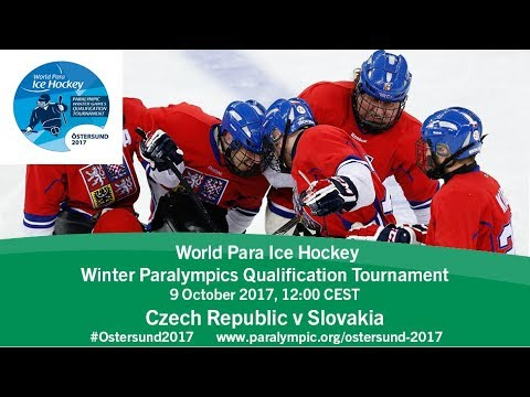 Czech Republic v Slovakia | PyeongChang 2018 Qualification Tournament | Ostersund