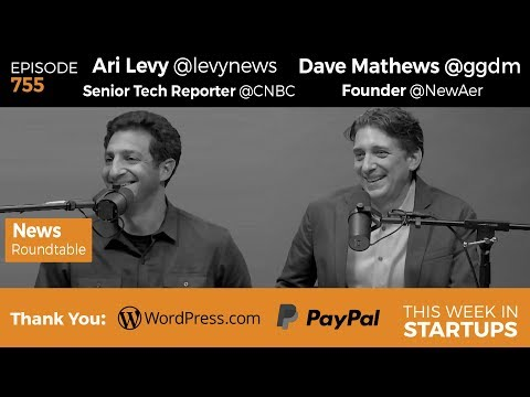 E755: News Roundtable! Ari Levy & Dave Mathews: Trump, Cloudflare, amazon, IPO lows, Uber, Bitcoin