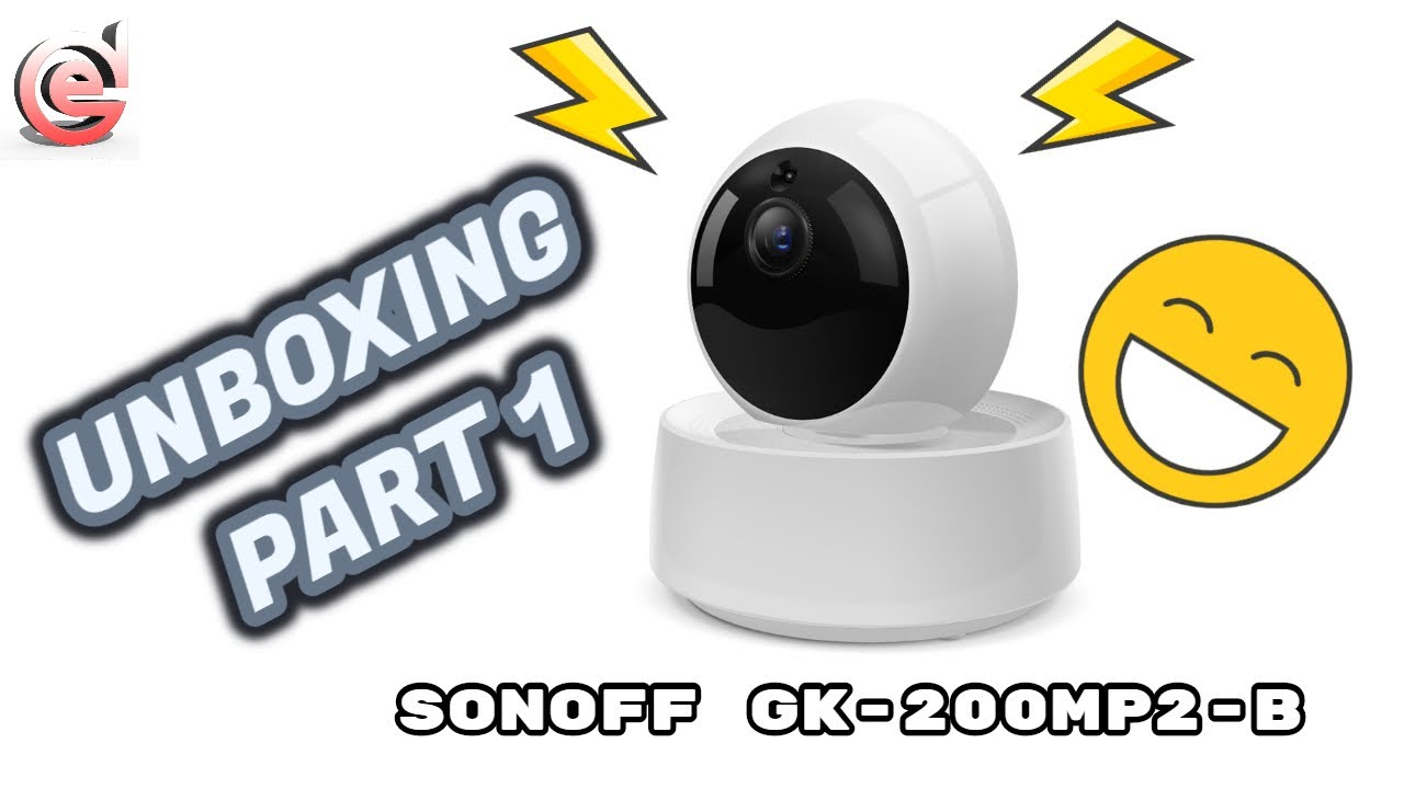 Sonoff Cámara GK-200MP2-B