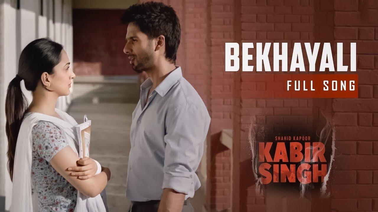Bekhayali Full Song Kabir Singh Extended Version Shahid