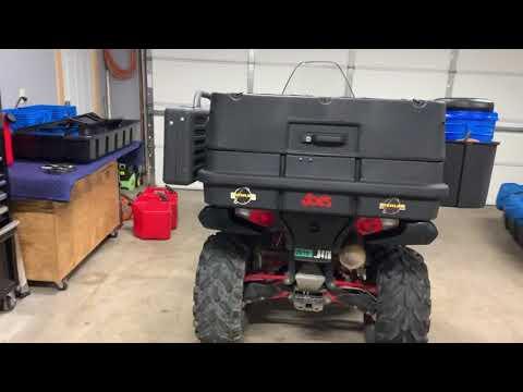 Ice Fishing ATV Setup