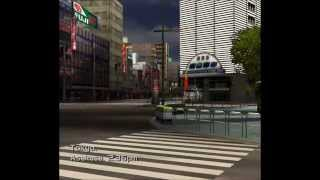 Metropolis Street Racer Sega Dreamcast Full First Chapter Gameplay 60FPS