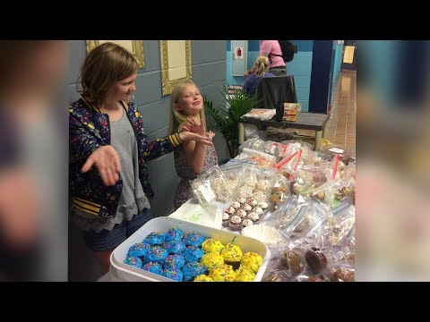WVE students hold bake sale to benefit peer