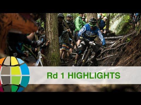 Battle Of Rotorua - Round 1 Full Race Highlights | EWS Rotorua NZ 2017