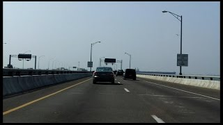 Hampton Roads Bridge-Tunnel eastbound
