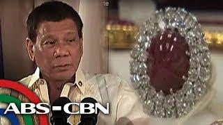 Bandila: Pera, gold bars, ibabalik ng pamilya Marcos ayon kay Duterte