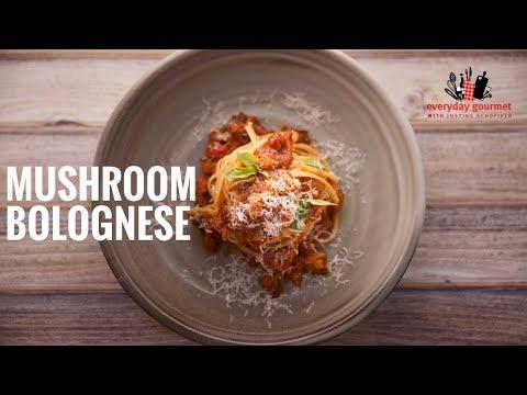 Mushroom Bolognese | Everyday Gourmet S6 E15
