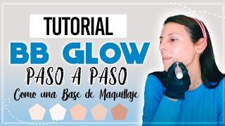 BBGLOW | BB glow facial | paso a paso| tutorial | DIY | #bbglow #pasoapaso #encasa #bbglowdesdecasa