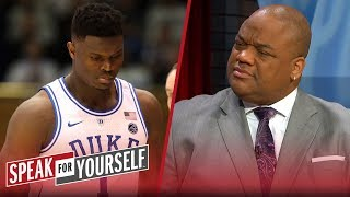 Jason Whitlock: Coach K should sit Zion Williamson for the season | CBB | SPEAK FOR YOURSELF