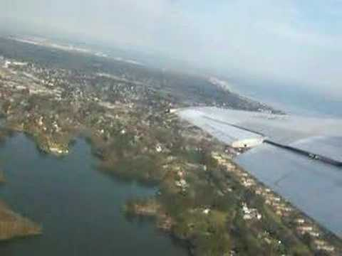 Takeoff From Norfolk Intl' Airport