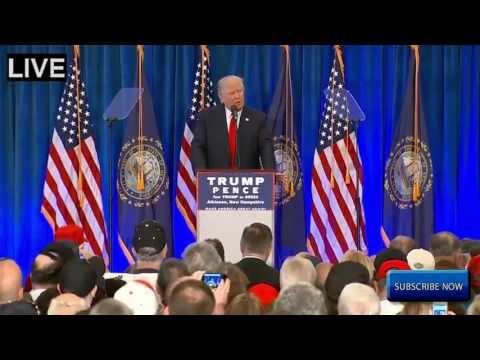 FULL SPEECH Donald Trump INCREDIBLE Rally in Atkinson, New Hampshire HD STREAM