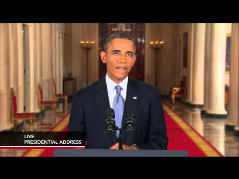 Watch President Barack Obama Address the Nation on the Syria Debate